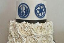 Star Wars wedding far far away CAKE