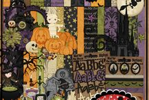 "Created with Hocus Pocus / Pages created with the Digital Scrap Kit ""Hocus Pocus"""