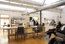 FDA - studio delrosso - biella IT / #architecture #interiordesign #design #interior #minimal #italianstyle #italiandesign #federicodelrossoarchitects #italianarchitects #interiorarchitecture #studioarchitettura #white #grey #metal #studiodesign #workspace #Biella #italy
