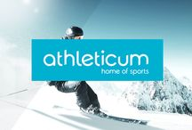 Short'o Folio – athleticum's corporate identity / From logo design & corporate identity to POS and communication. Total rebranding of Switzerland's largest and oldest sporting goods retailer. Bye bye ATHLETICUM, hello athleticum!