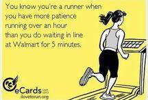Running humor