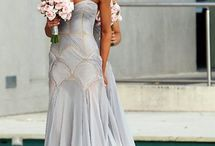 xoxo gossip bride / for my bride's minions to choose a nuance of pastel sea blue-green for their romantic dresses