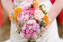 Spring Wedding Bouquets, Centerpieces & Decor