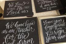 Calligraphy fun / by Kimberly Joy