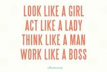 Random Quotes / by Tina Maturah