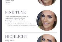 Contour and highlight tips