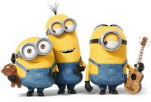 Minions / Its about the minions - cute little creatures!