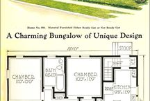 Old house plans / by Cindy Want