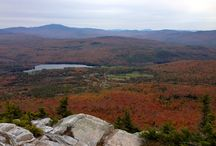 Fall on the Appalachian Trail / The Appalachian Trail is particularly scenic and beautiful during the Autumn months.