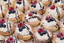Pastries.  Entertaining