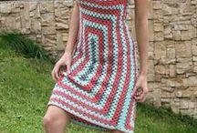vestidos crochet y media