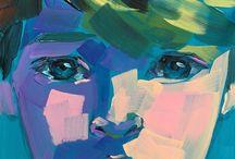 abstract children