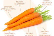 Verduras, recetas y salud