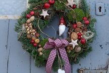 Weihnachten Türkranz