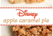Apple caramel pie / Dessert idea