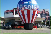Inflatable Balloons / Call us at (626) 579-4454
