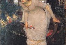John William Waterhouse / English Artist (1849-1917)