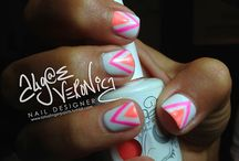 Funky nails but gotta have em! / by Lindsey Meeks
