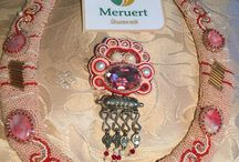 Hand made soutache jewelry