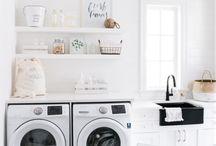 Savvy Laundry Rooms