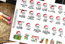 Planner Stickers & Accessroies / Fun planner stickers, planner clipart, planner bands and other accessories for your Happy Planners, Erin Condren, Plum Paper planner, Passion Planner, and more!