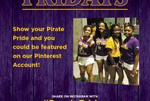 Paint It Purple / Fans showing their Pirate Pride as part of Paint It Purple Fridays! / by ECUAthletics