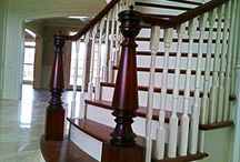 Curved Stairways / The warmth and beauty of a curved stairway