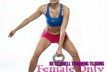 Kettlebell Training Female Only / speciale workout voor vrouwen. Female Only info@phymenso.nl