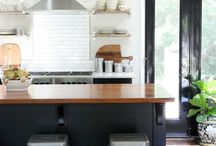 Kitchen Design Inspiration / Design to inspire for those upcoming kitchen projects.