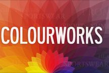 Colourworks Textile Screen Printers / An example of our work, our staff, what we do and where we are in the world!