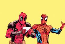 ✄ • friendly neighborhood spiderman / kin board; peter parker • spiderman [marvel comics]