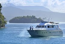 Ultra Luxe Cruising / Climb aboard the super luxurious MV Tarquin and cruise the crystal clear blue waters of the Marlborough Sounds in pure decadence. www.tarquincruises.co.nz
