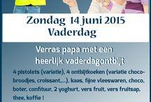 Flyer vaderdag actie / Een flyer / banner gemaakt voor #hetkadootje voor de Vaderdagactie