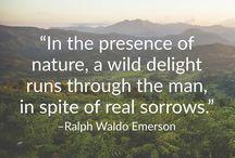 Inspirerende citater / Outmore er vilde med citater som er inspireret af naturen og at rejse.