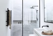 Beautiful marble bathrooms