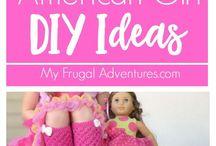 AG Doll Christmas crafts