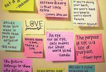 Words / by Tasha Pierce