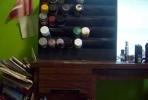 Great organizing ideas! / Clever ways to organize.