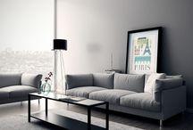 interiors / 3D model, architecture, design, interiors