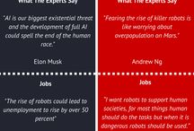 AI, Machine Learning & Chatbots infographics / Artificial Intelligence