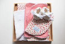 Littletreez blanket sets / Little rosebuds