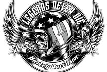 Harley davidson motorok