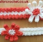 Crochet Headband Patterns for Baby / Crochet Headband Patterns for Baby