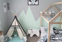 Childrens mountain room