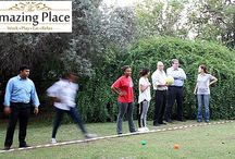 IQ Business Corporate Fun Day Team Building Event / The Amazing Place recently hosted IQ Business for a team building event facilitated by TBAE. The theme for the event was TBAE's Corporate Fun Day and the activities took place on the lush green lawns amongst The Amazing Place's beautiful gardens.