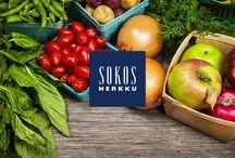 Sokos Herkku / Kaupungin kattavin valikoima tuoreita raaka-aineita ja lähiruokaa.