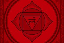 chakra 1 - root chakra -  red