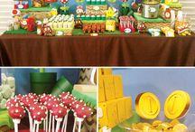 Mario Brothers birthday party ideas / by Gio Boreka