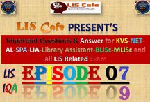 LIS Cafe : Episode:06-07: Important Questions for All LIS Compet...
