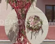 Floral Installations / Artistry in large creative flower installations